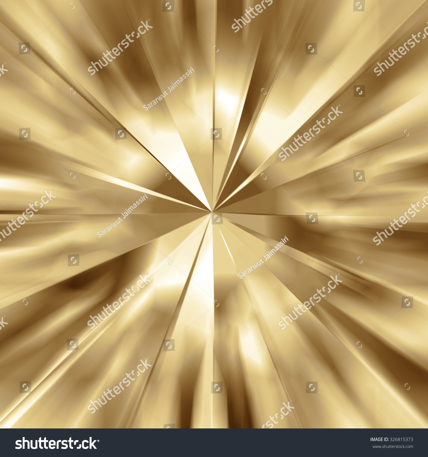 stock photo zoom light golden explosion background abstract illustration