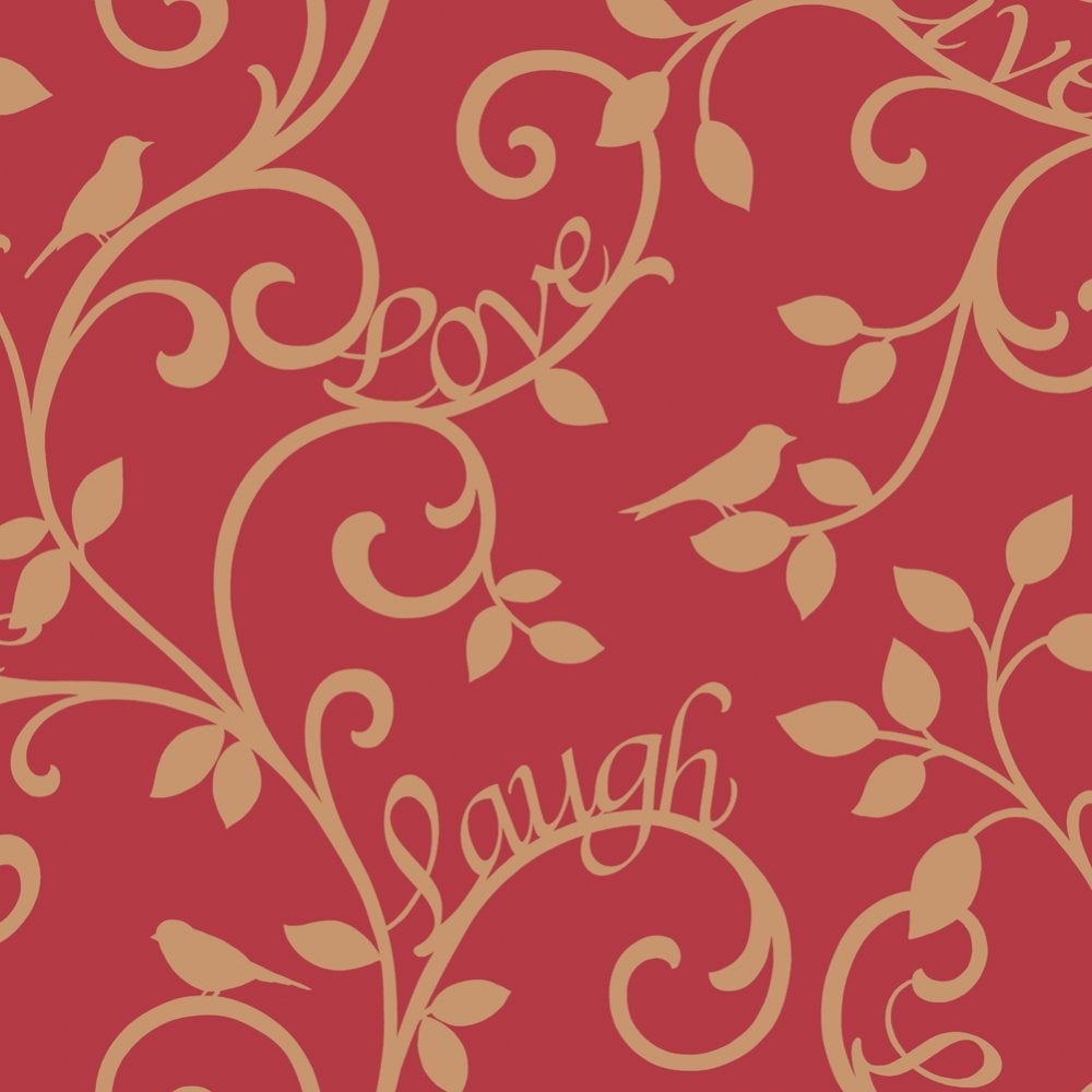 bJhobb live laugh love wallpaper red