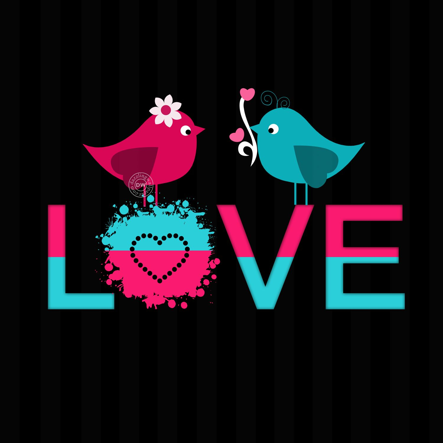 17 love bird mobile wallpaper and whatsapp dp love