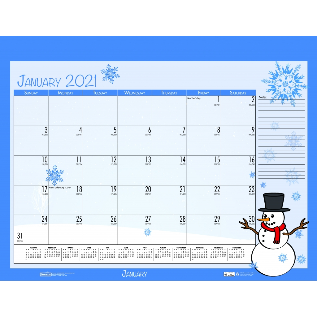 monthly deskpad calendar academic seasonal holiday depictions 22 x 17 inches