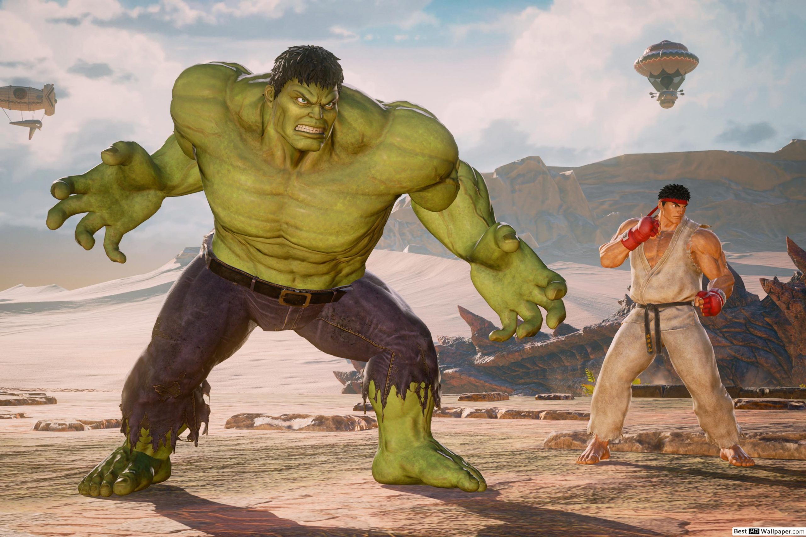 marvel vs cap infinite hulk and ryu dt en US