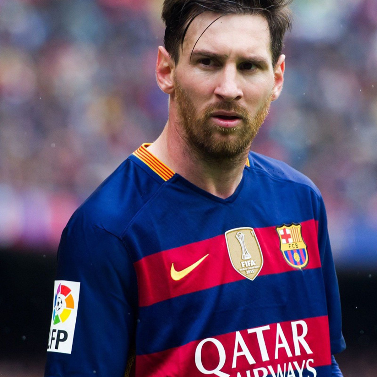 Player Lionel Messi hot favorite player of football team