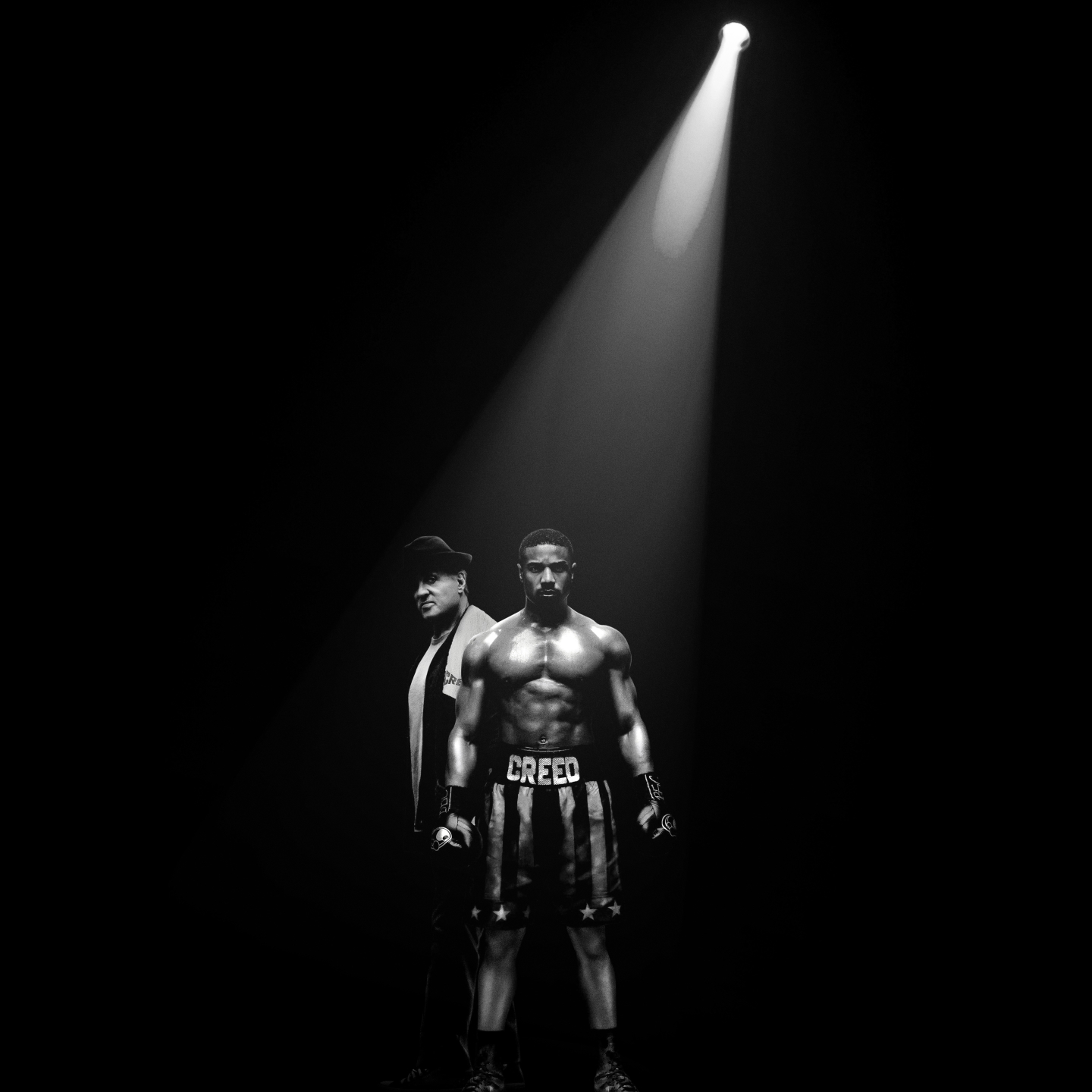sylvester stallone and michael jordan in creed 2 poster a2hlZWWUmZqaraWkpJRmaWllrWZpaWU