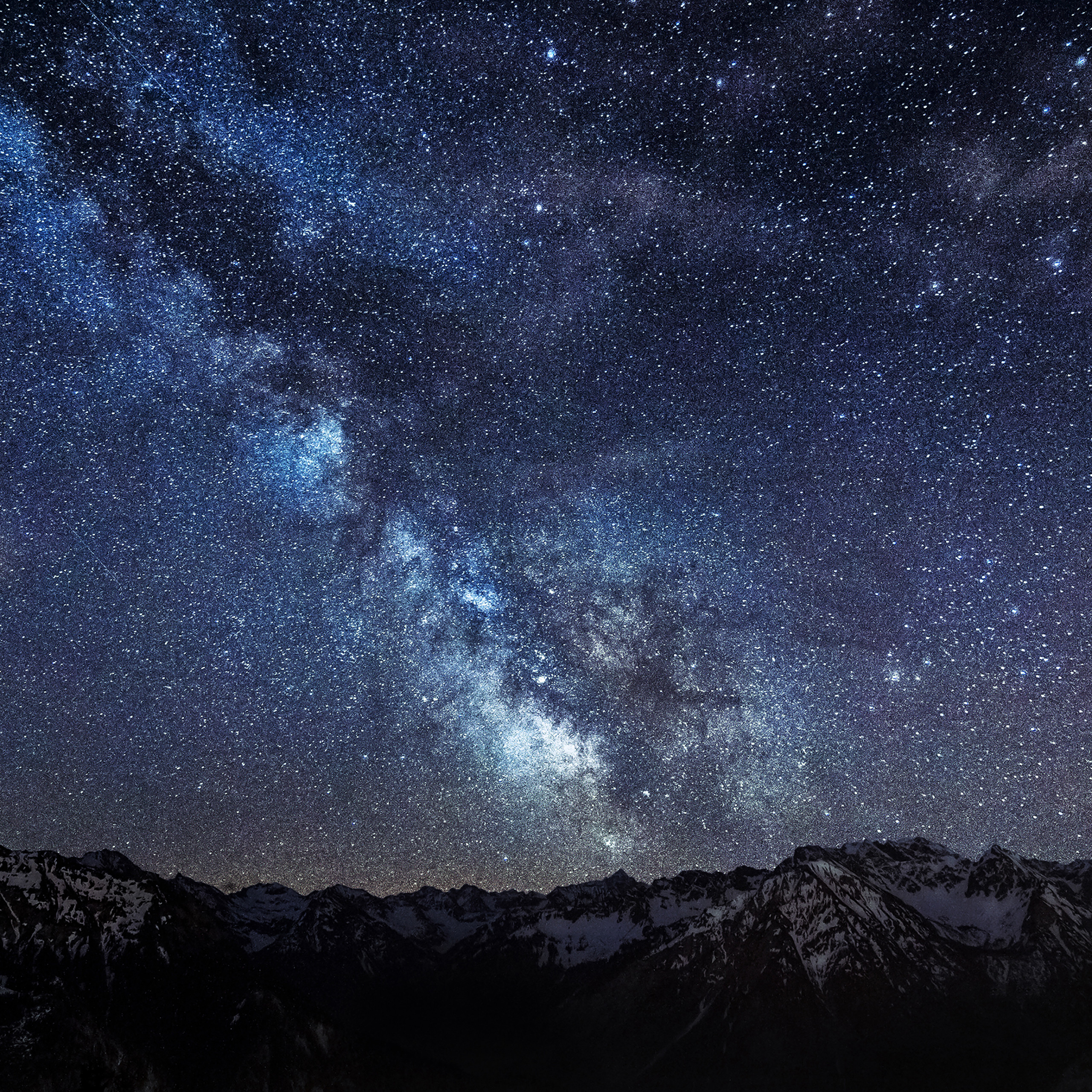 mb55 wallpaper amazing milkyway space mountain