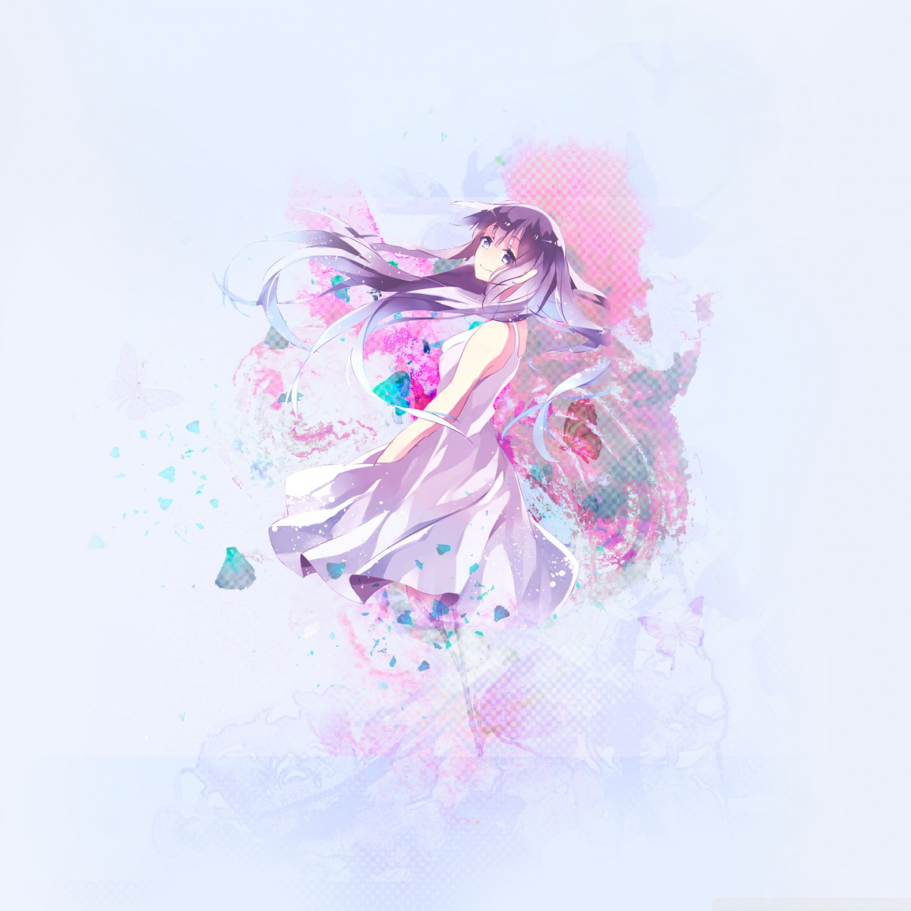 ibJohih anime wallpaper pastel aesthetic