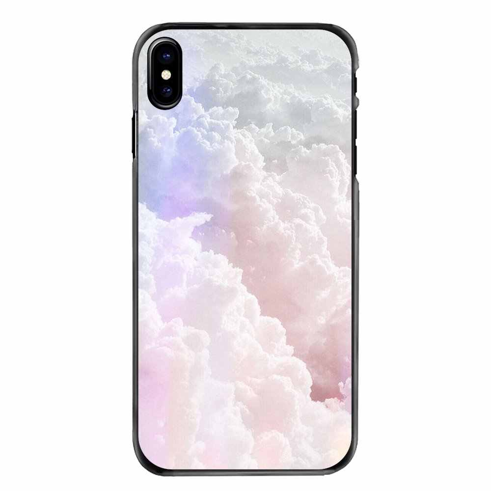 Colorful Clouds Pastel Wallpaper Pattern For LG G6 L90 V20 Nexus 5X K10 Moto E E2 q50
