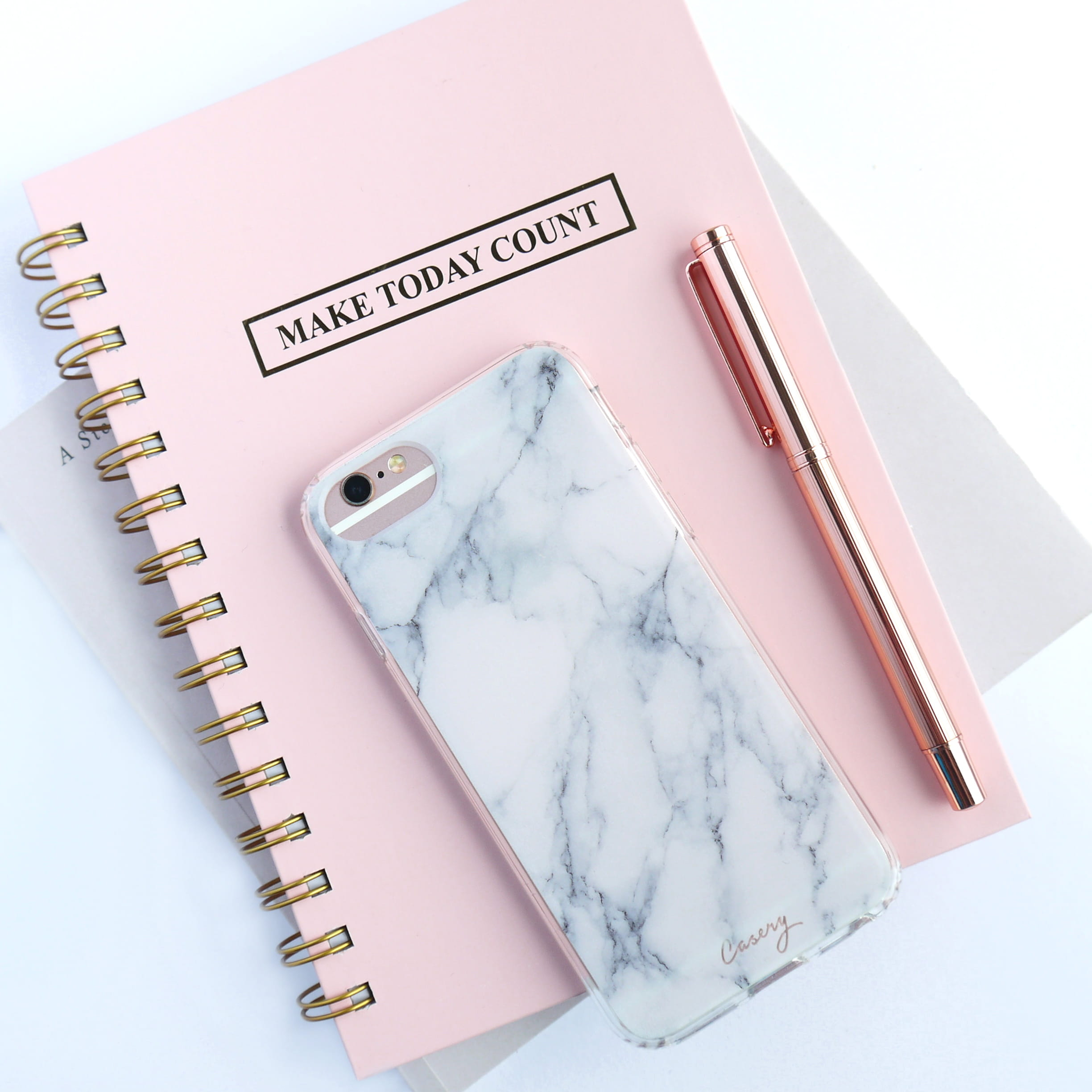 bowwo rose gold iphone 6s and white and gray