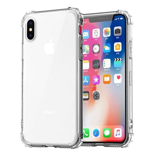 Heavy Duty Protection Case For iPhone 11 Pro Max X XS Max For iPhone 6 6S Clear