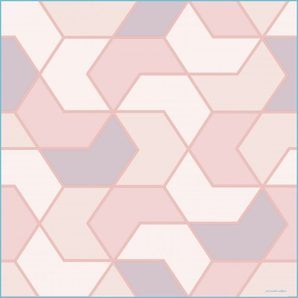 rasch portfolio pink rose gold geometric wallpaper 8 pink geometric wallpaper
