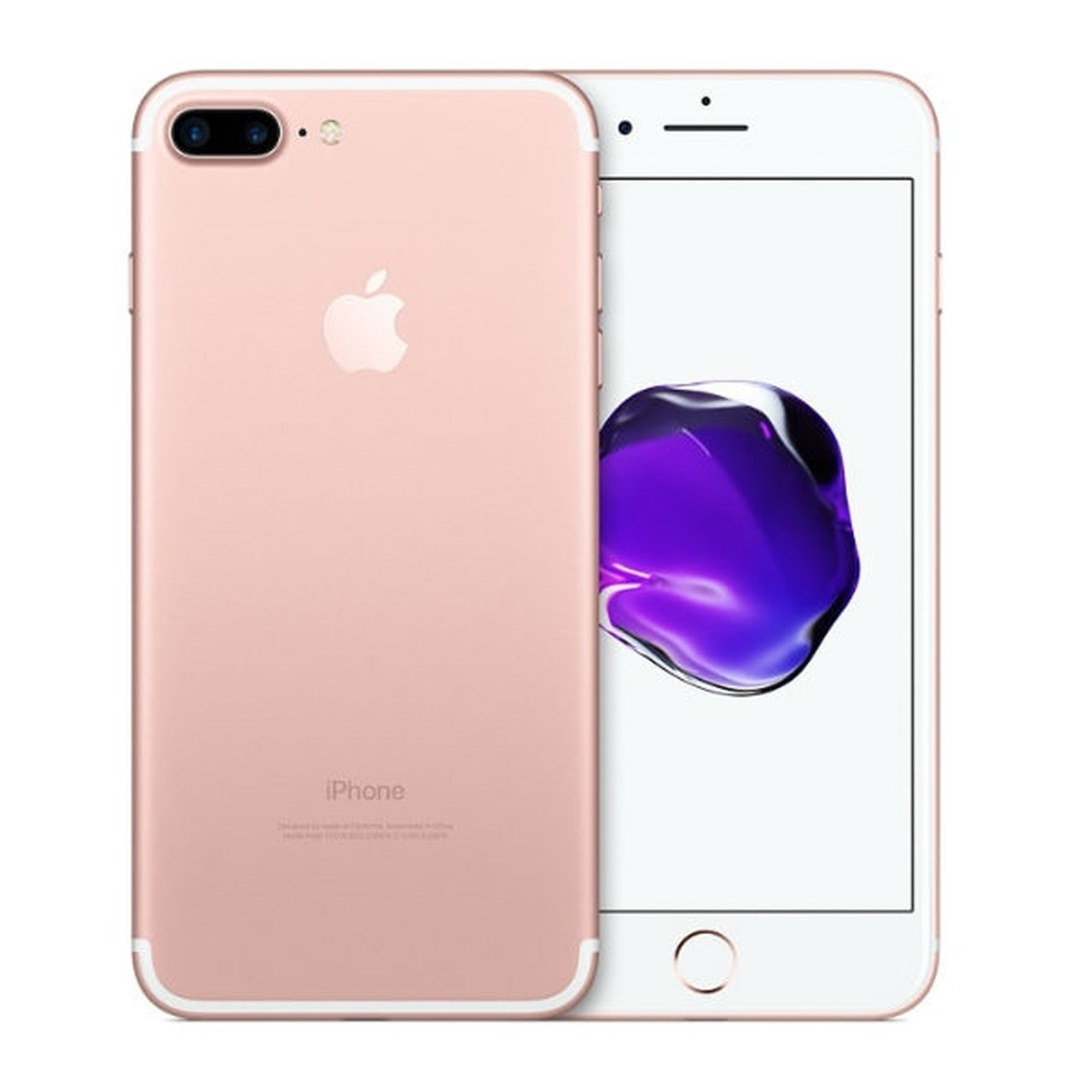 apple iphone 7 plus at t 128gb rose gold mn562ll a