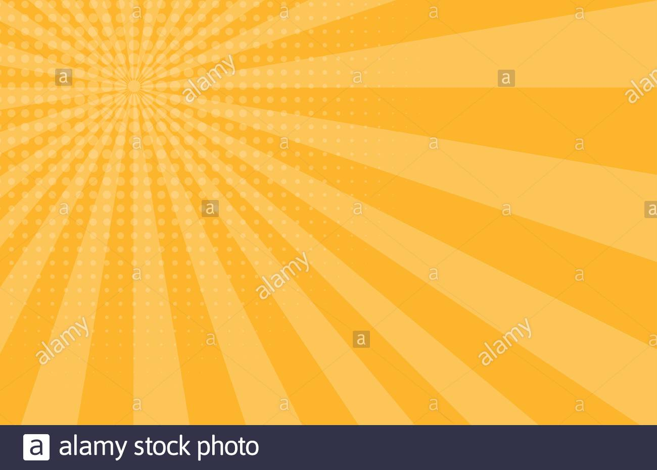 pop art ic zoom background with lines and glow vector illustration eps10 image