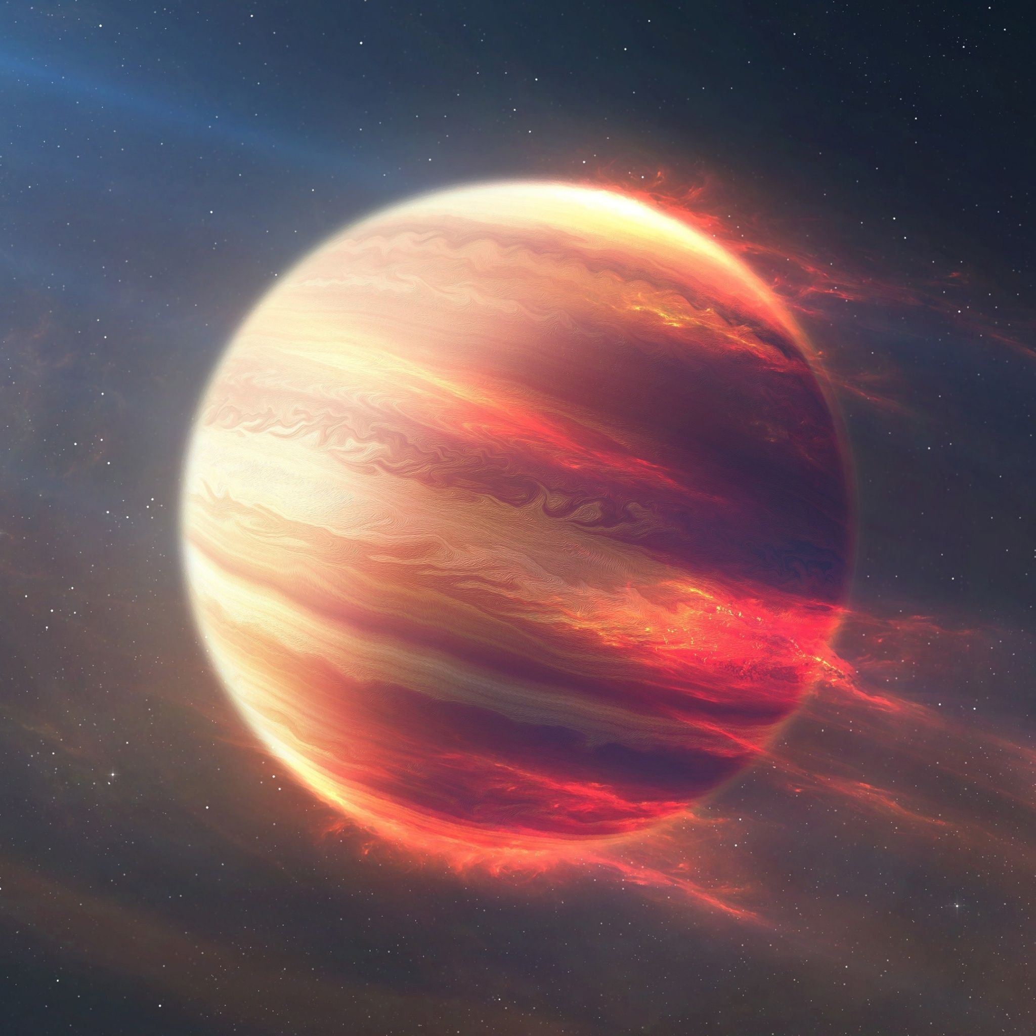 space planet 4k