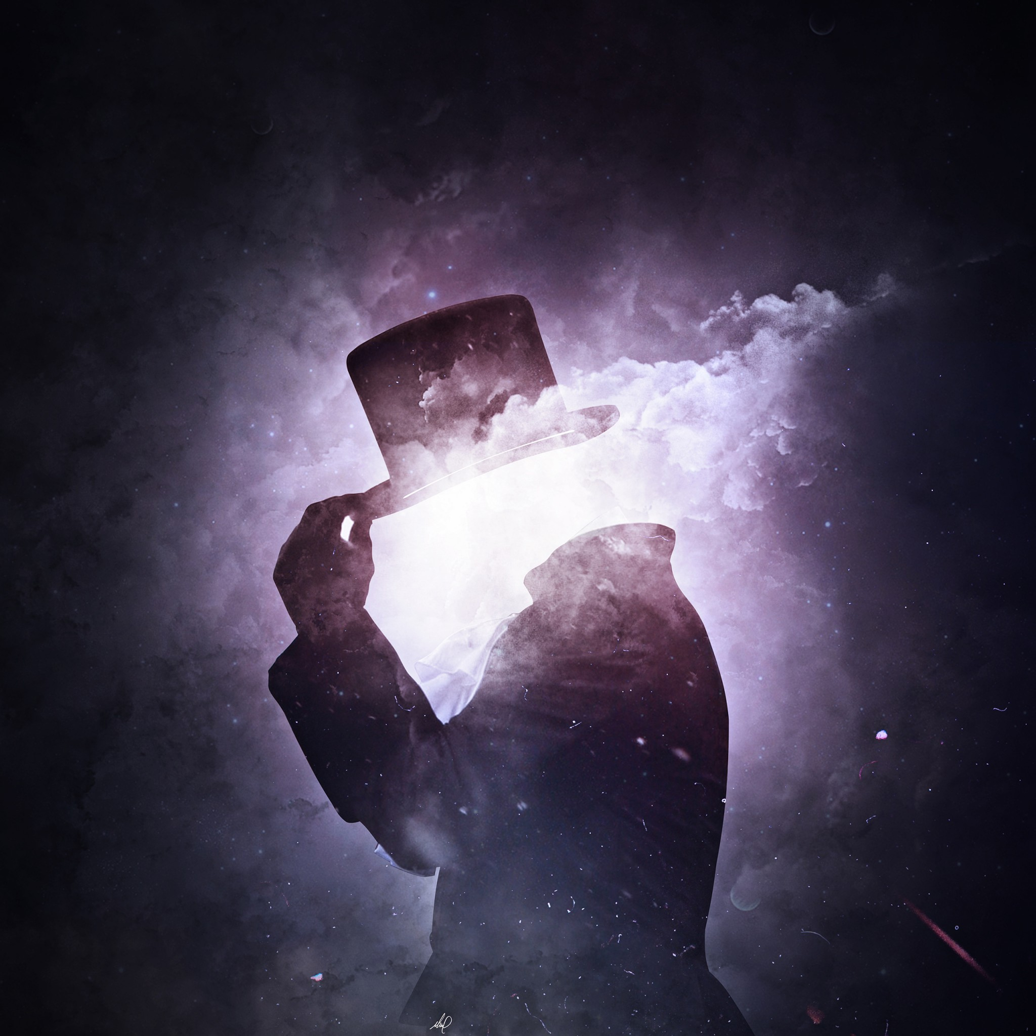 invisible space man 4k wallpapers