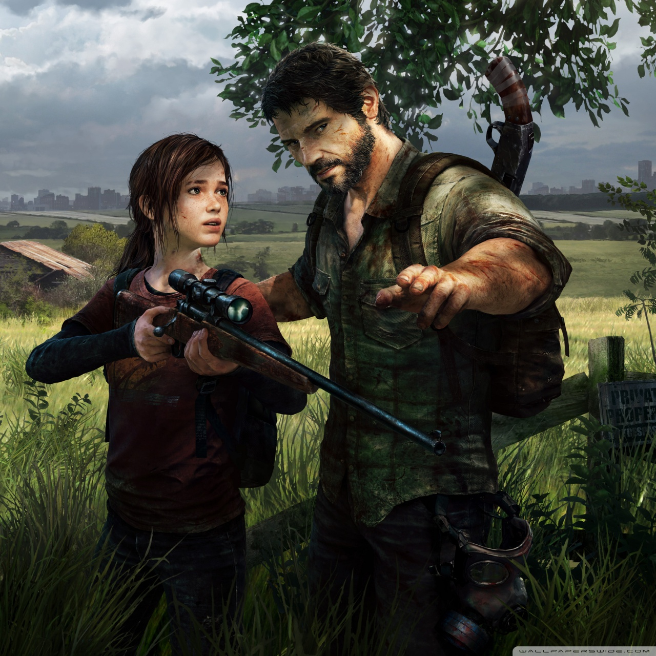 the last of us video game ps3 wallpapers