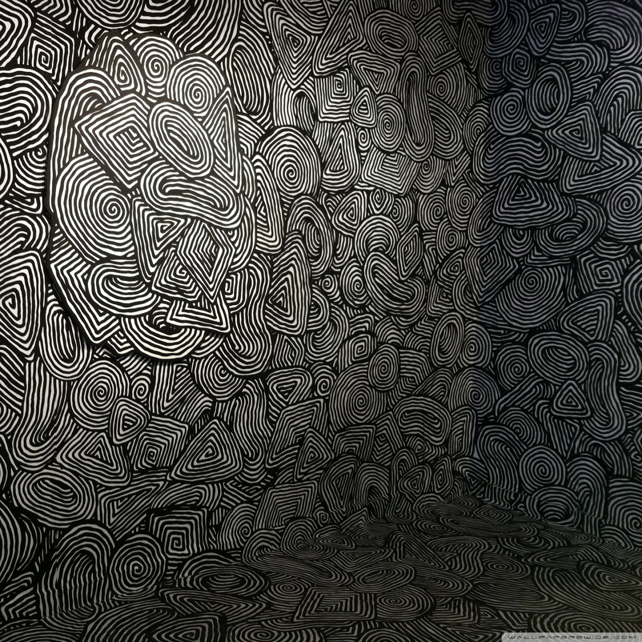 mind easer psychedelic pattern wallpapers