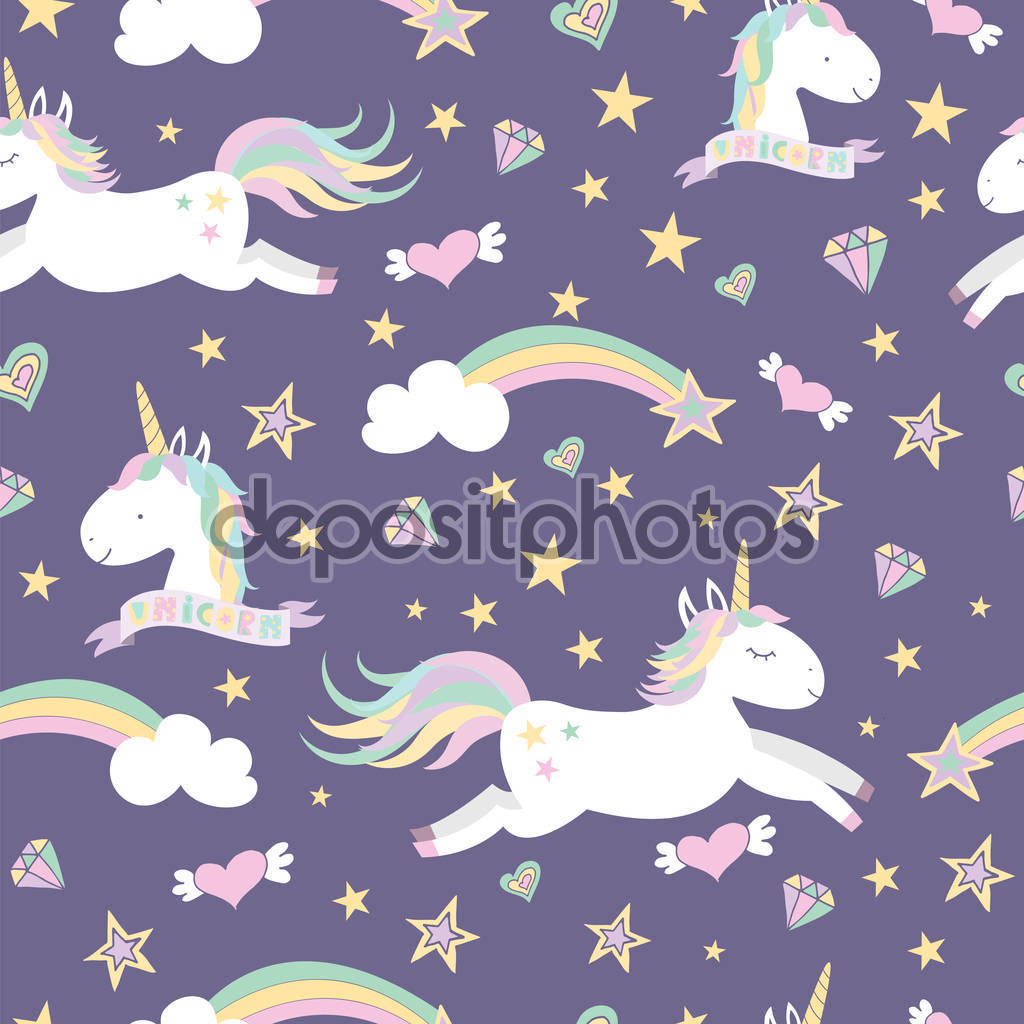 depositphotos stock illustration vector seamless pattern with magical