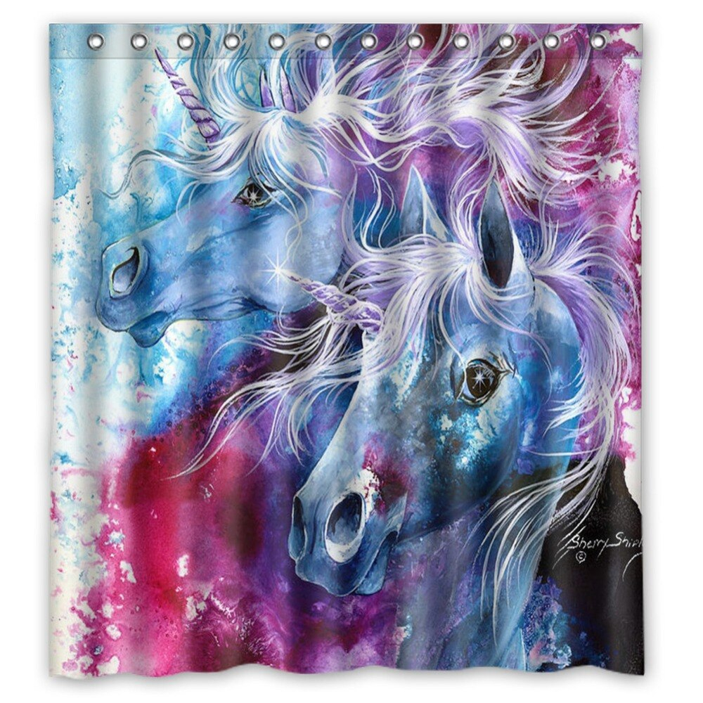 66x72 unicorn hd wallpaper for phone Shower Curtain 72x72 inch Dragon Ball Z Bleach Fairy Tail