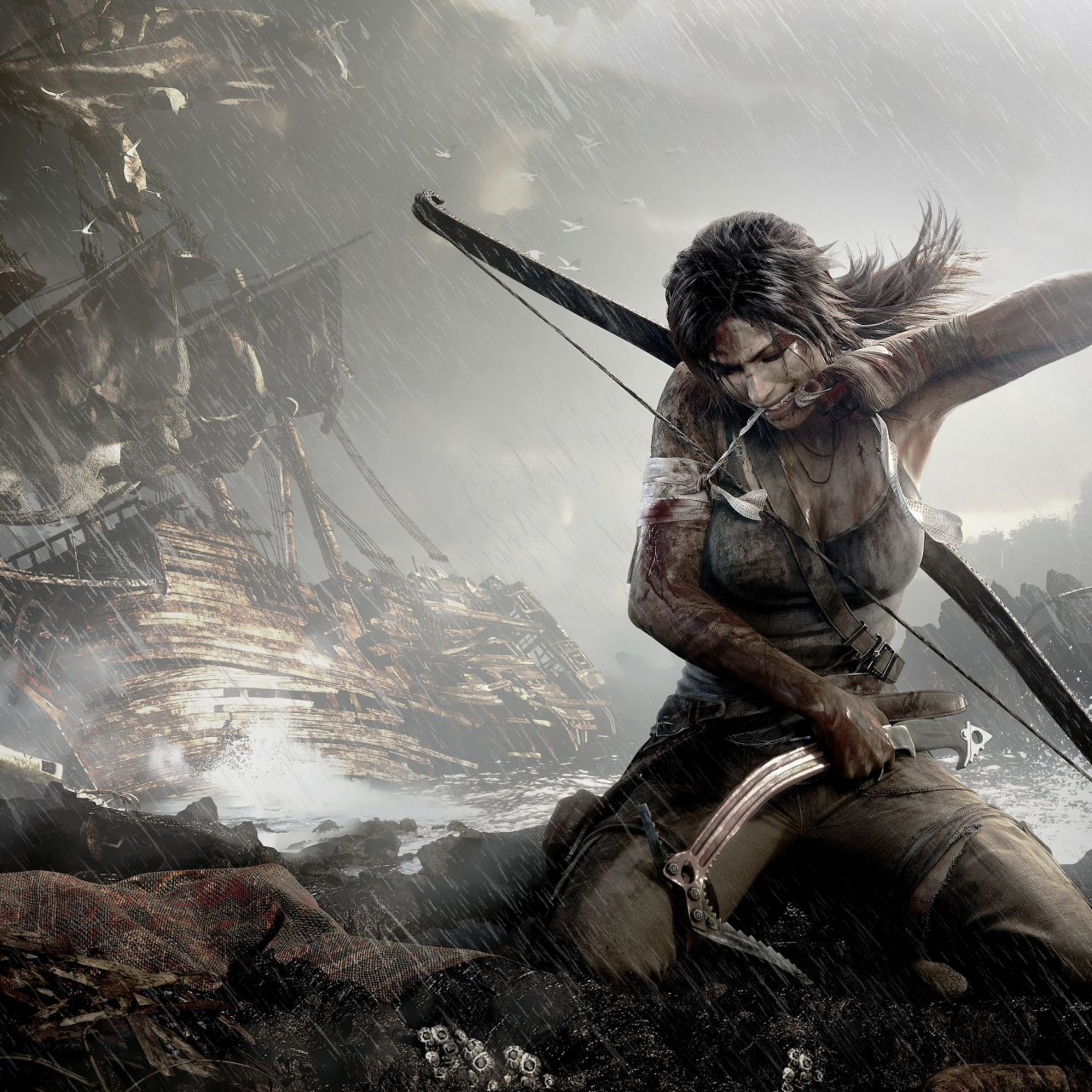 tomb raider definitive edition game 4k wallpaper