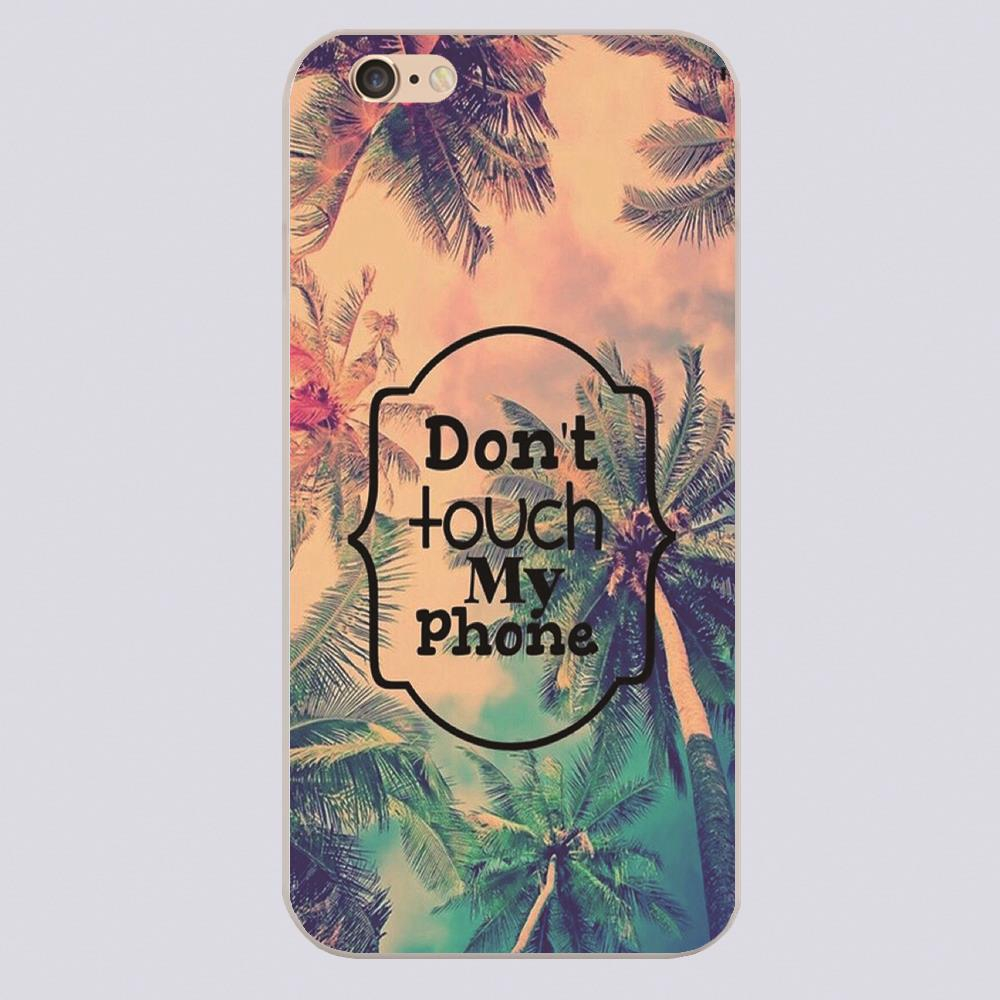 dont touch my phone art wallpaper Design phone cover cases
