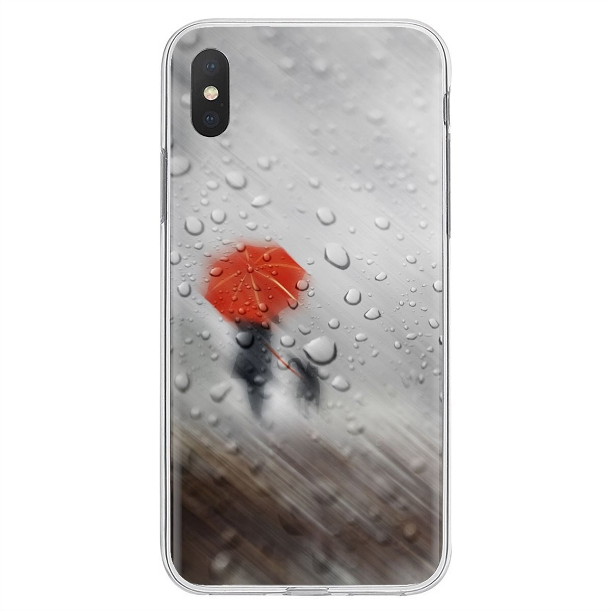 Red Drops Mobile Wallpaper Classic Silicone Phone Case For Xiaomi Redmi 4A 7A S2 Note 8