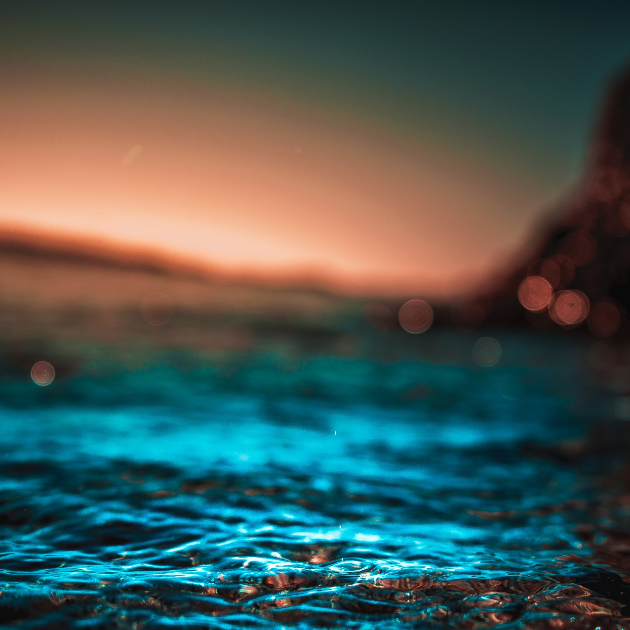 dawn depth of field dusk ocean sea sunrise sunset water 4k
