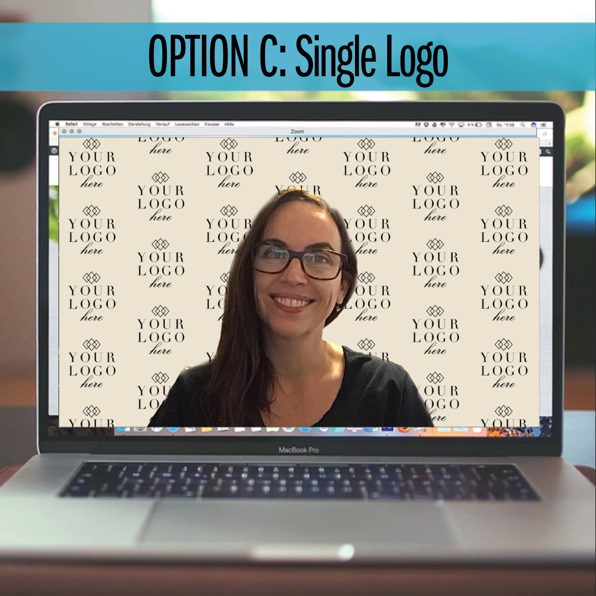 create custom zoom backgrounds step and repeat