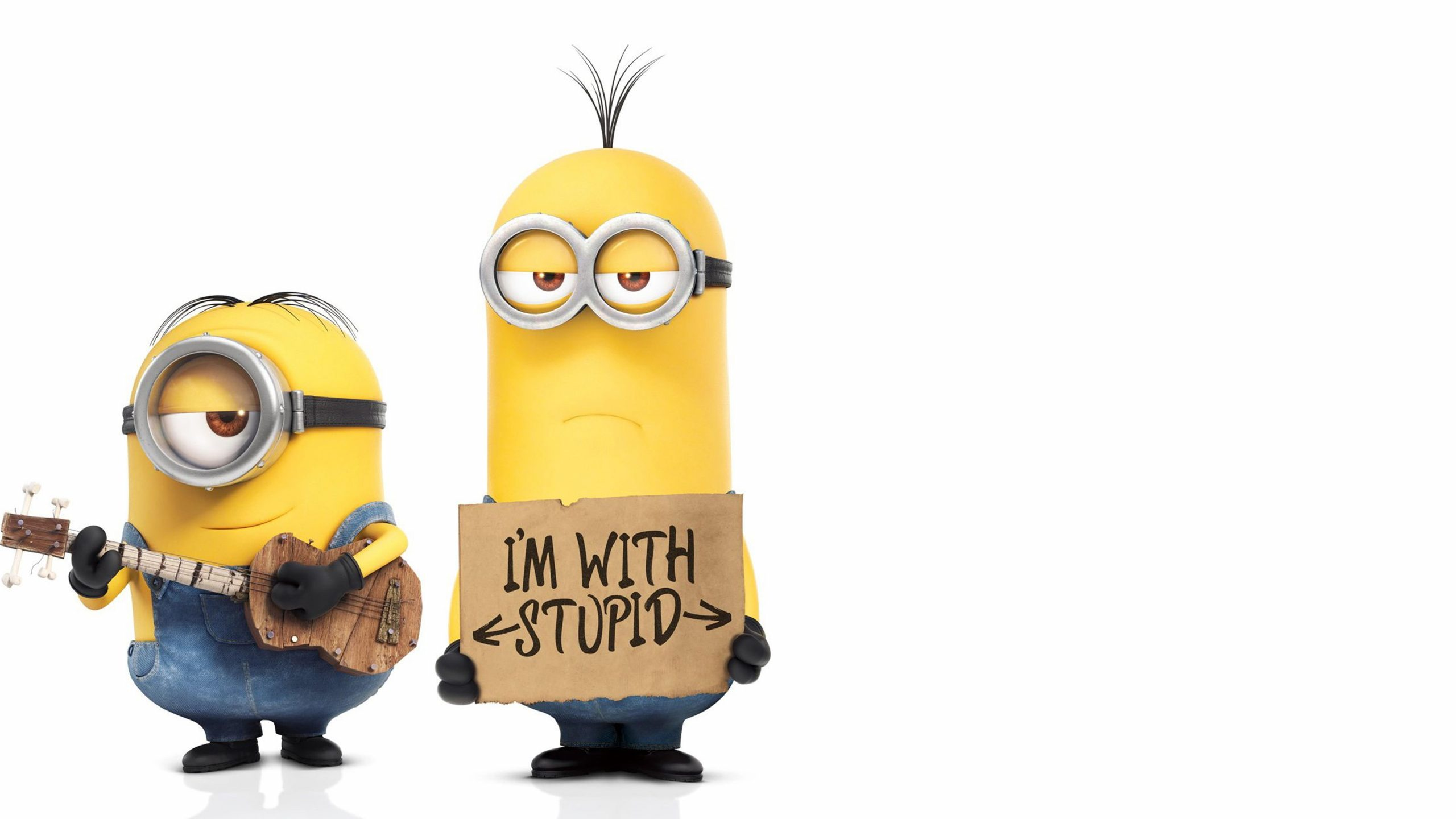 Minions You can be with stupid 369