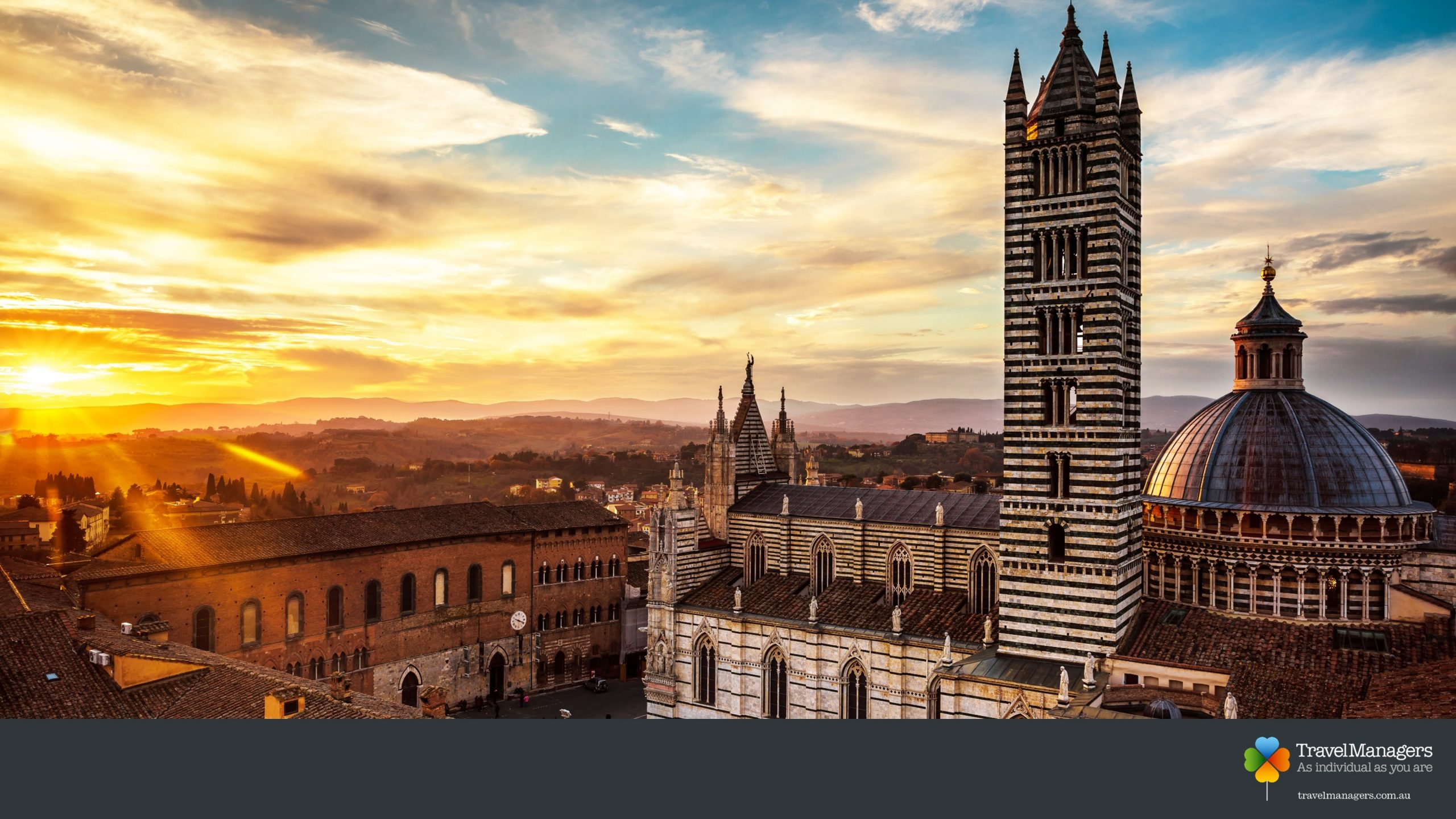 Siena Italy Zoom Background TravelManagers