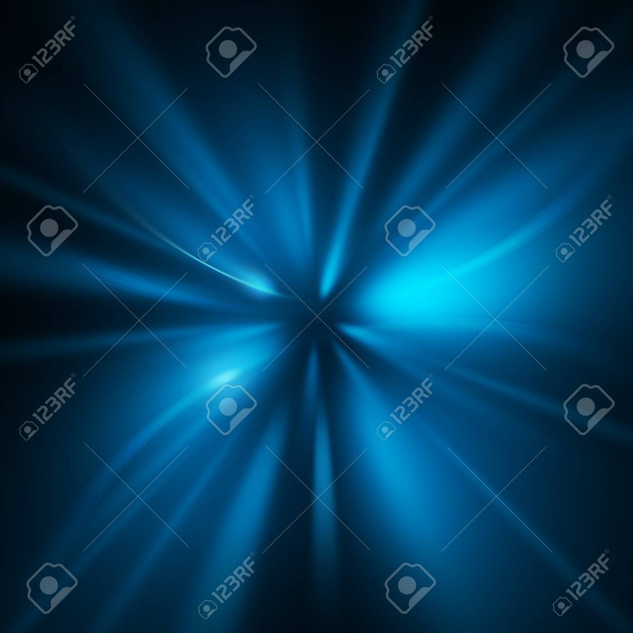 photo abstract blue wave zoom background