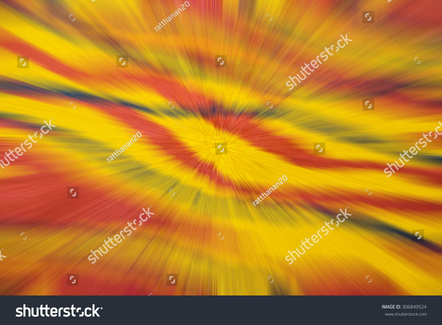 stock photo zoom blur effect abstract background with colorful shades of orange yellow black and red