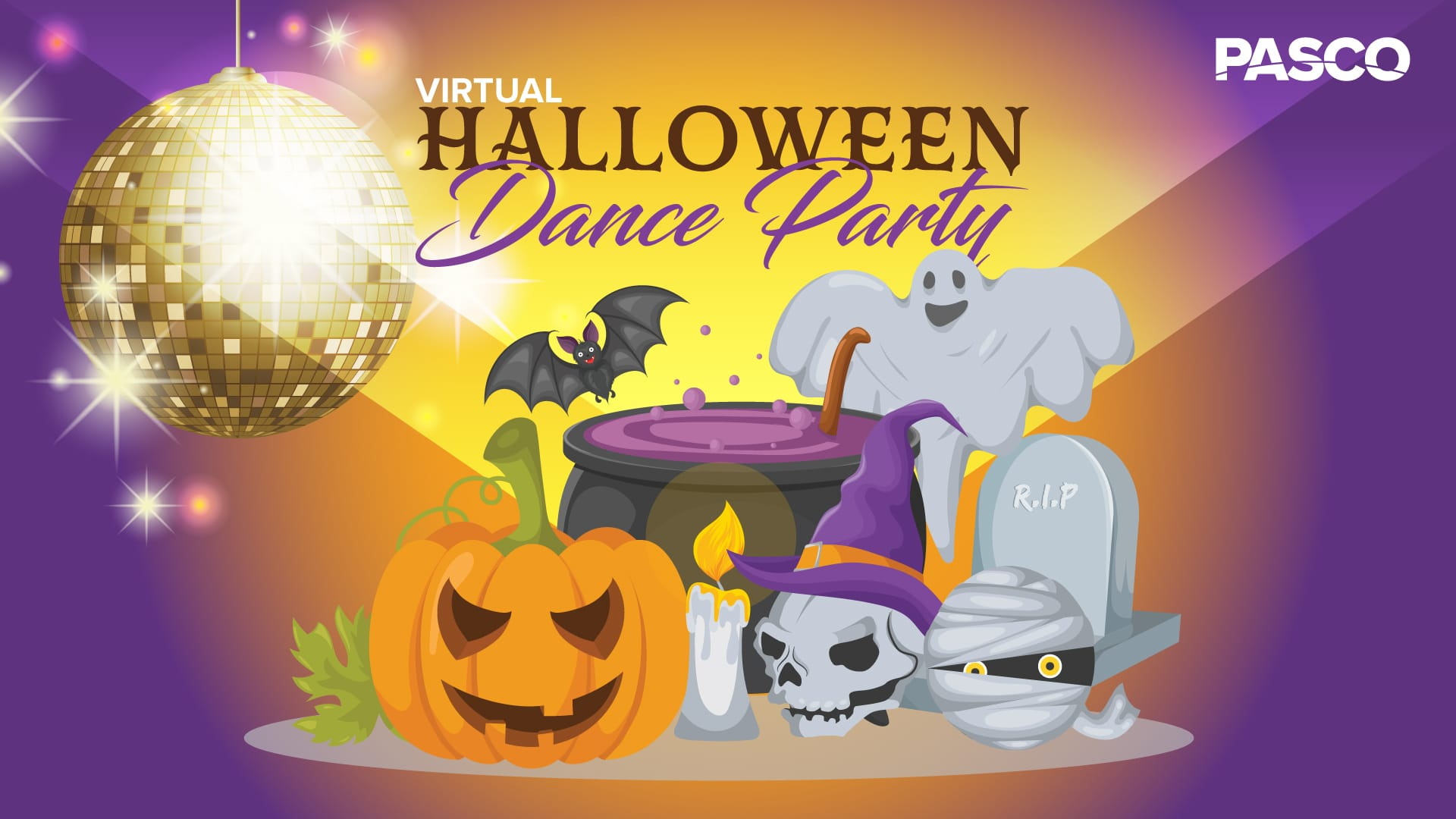 PASCO Virtual Halloween Dance