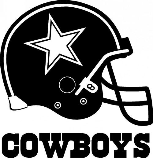 Dallas Cowboys Logo Wallpaper in Black and White with Helmet HD Wallpapers Wallpapers Download