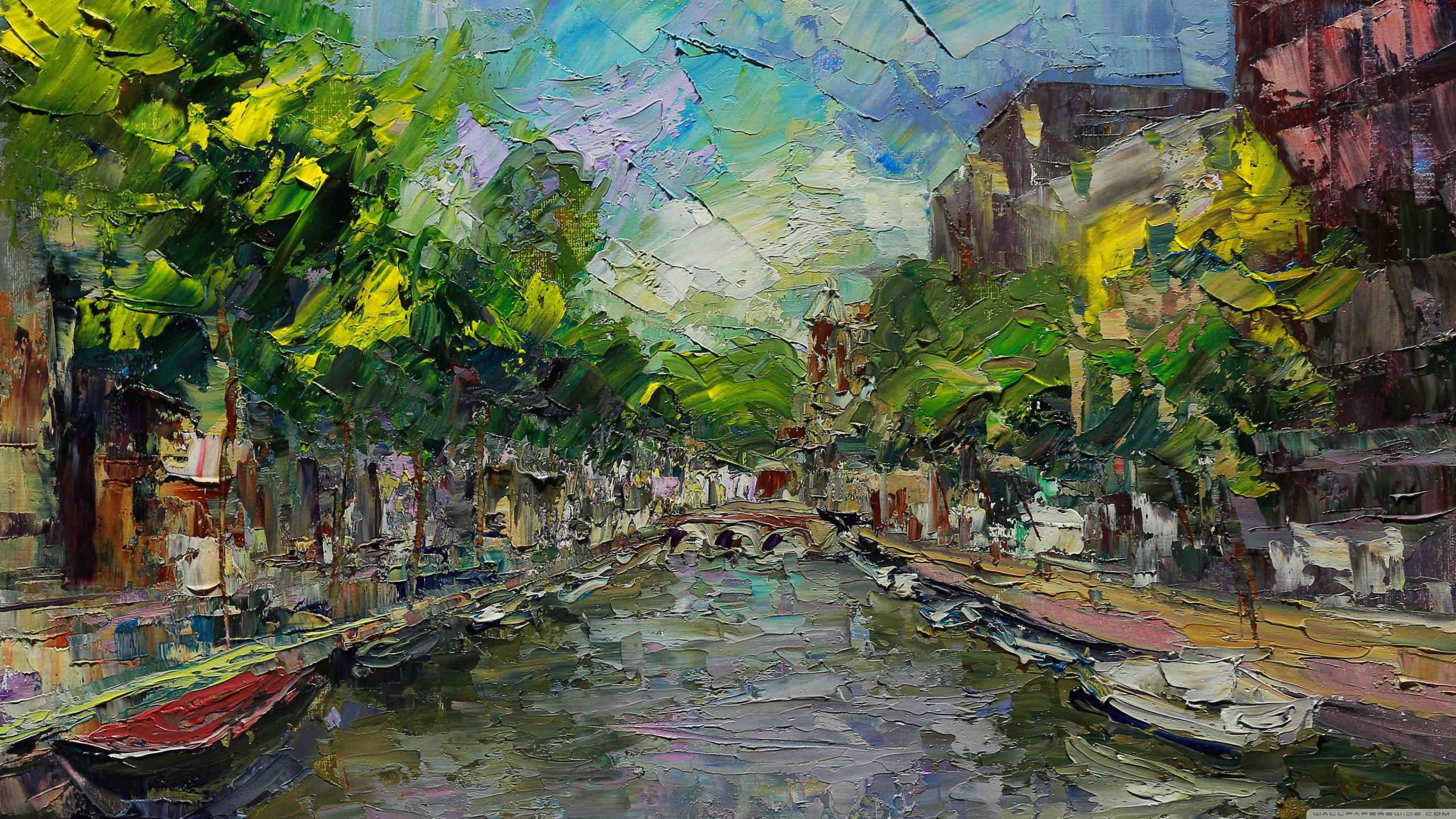 amsterdam painting wallpapers