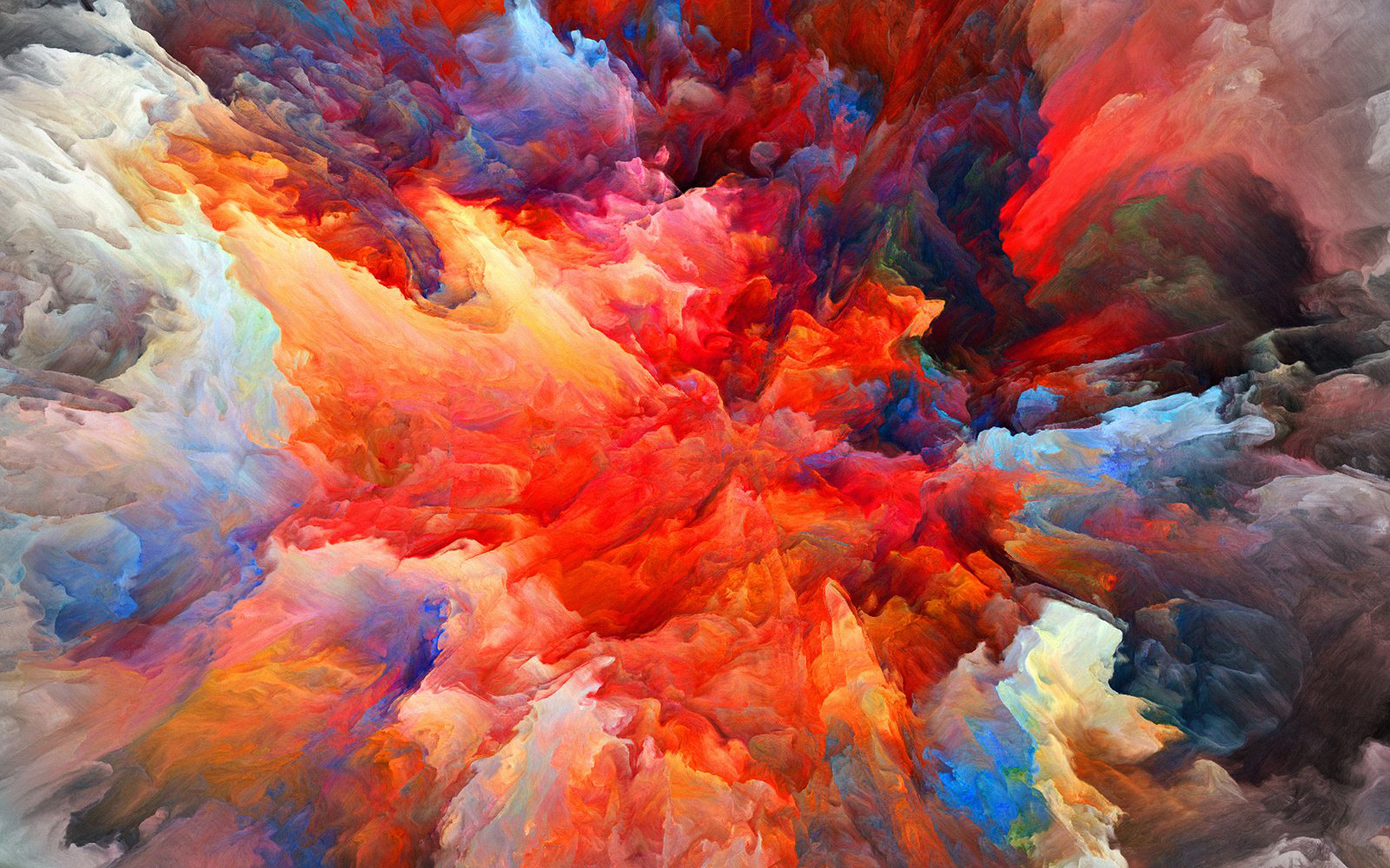 vq21 color explosion red paint pattern
