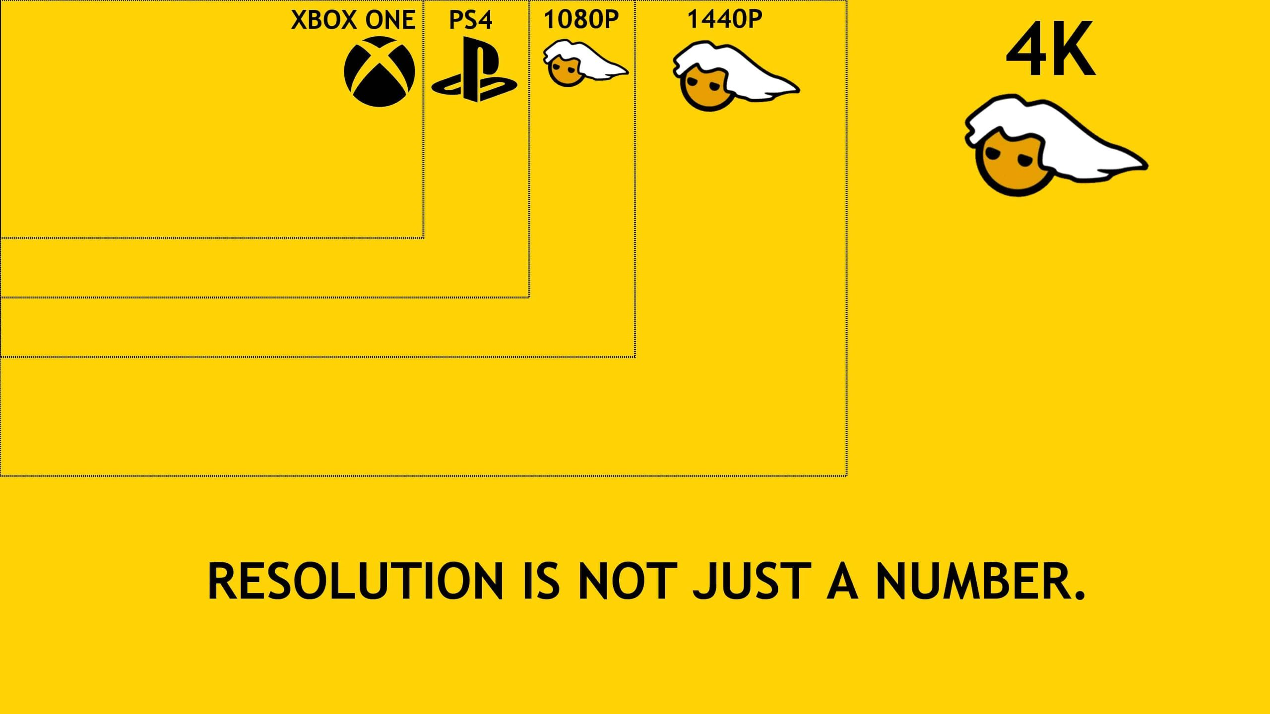 pc master race resolution isnt just a number uhd 4k wallpaper