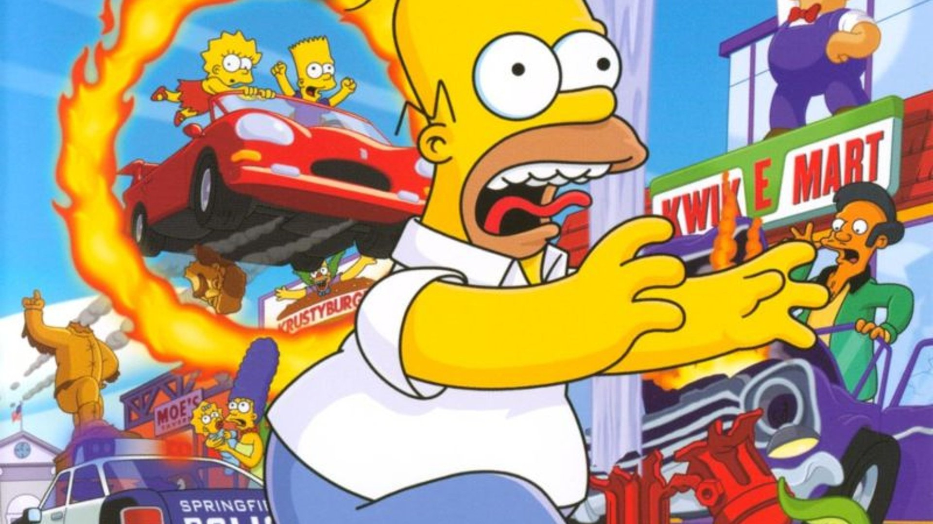 the simpsons hit and run ps4 original