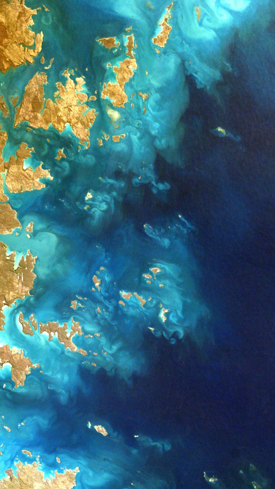 northwest australia from space 4k wallpapers