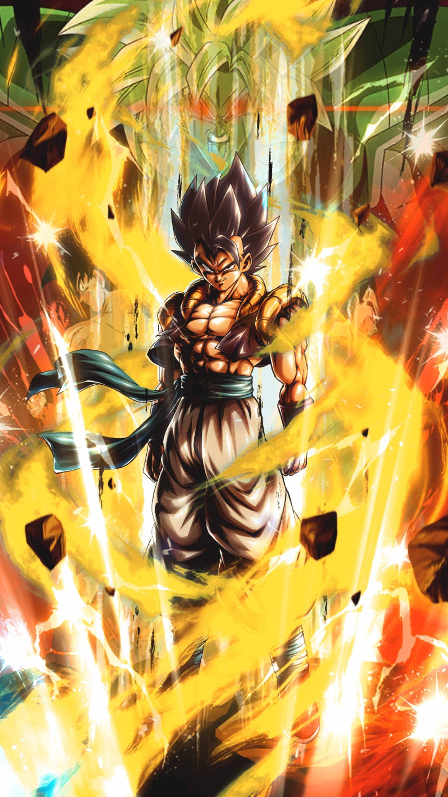 20 4k wallpapers of dbz and super for phones