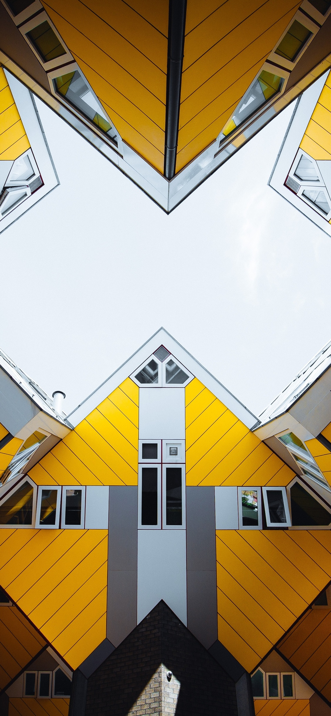 architecture building abstract 4k