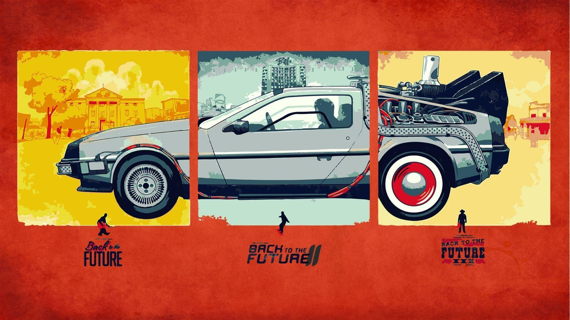 back to the future wallpapers hd