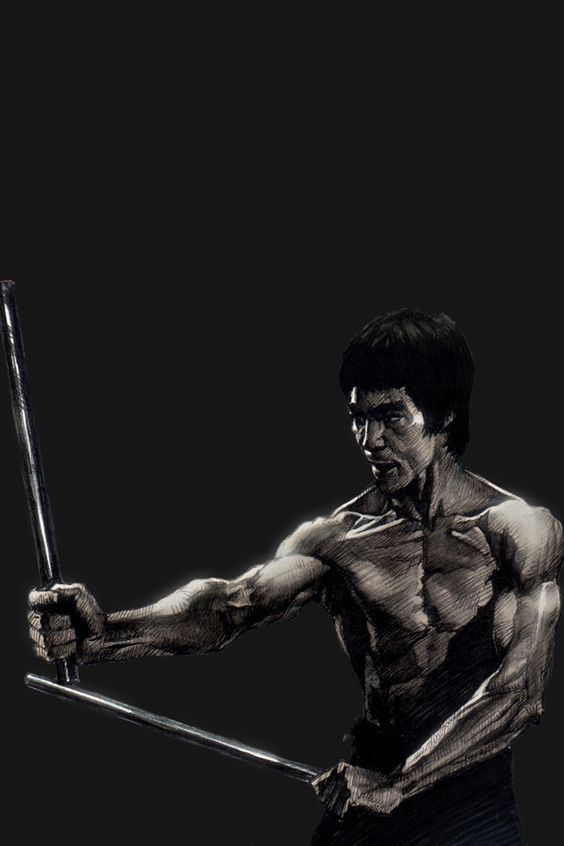 Bruce Lee iPhone 4s Wallpapers