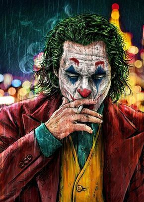 Smoking Joker Pt 1 Art Print by JustCallMeAcar Limited Edition from $29 9