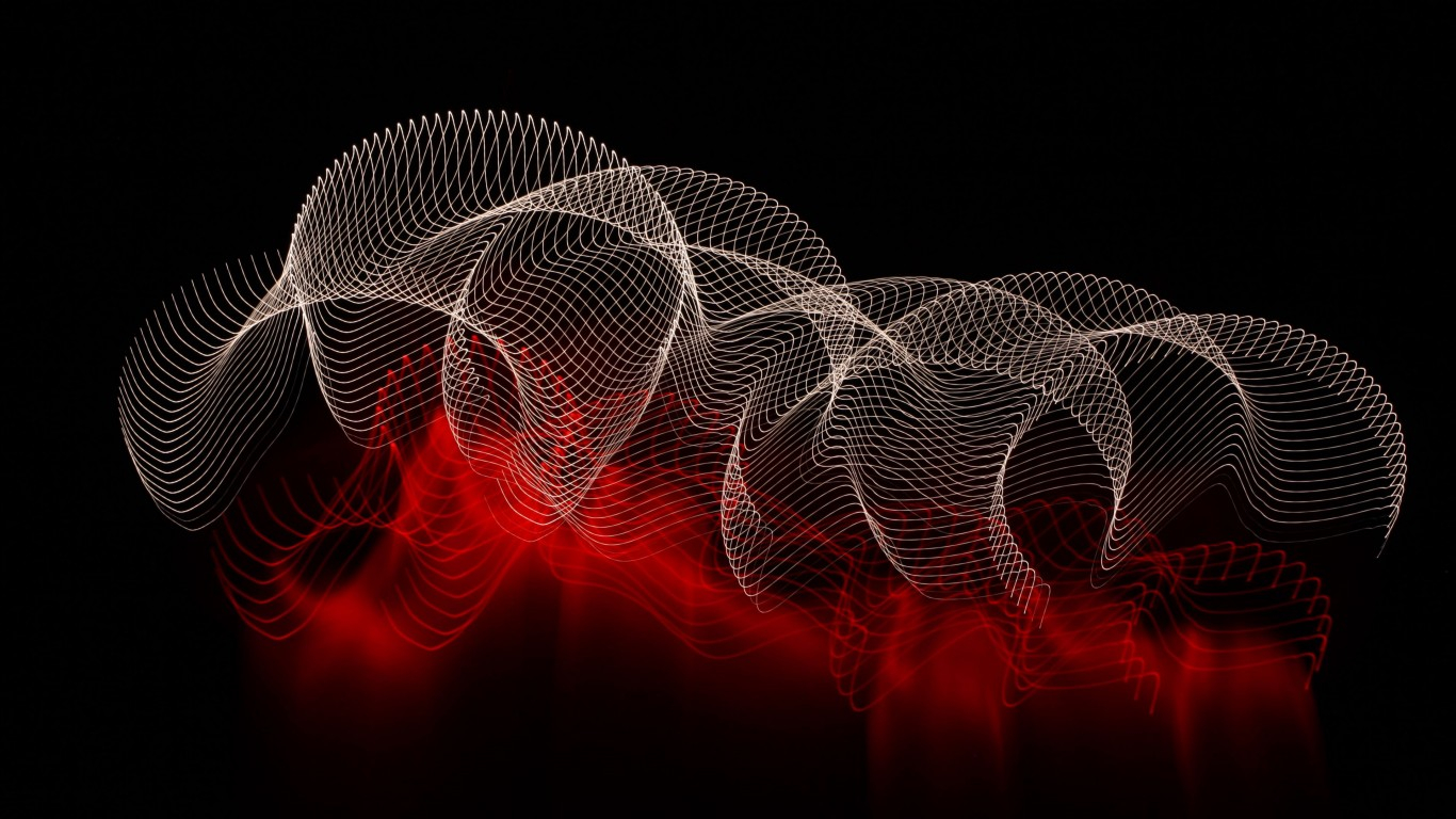 abstract lines spots dark background 4k hd wallpapers