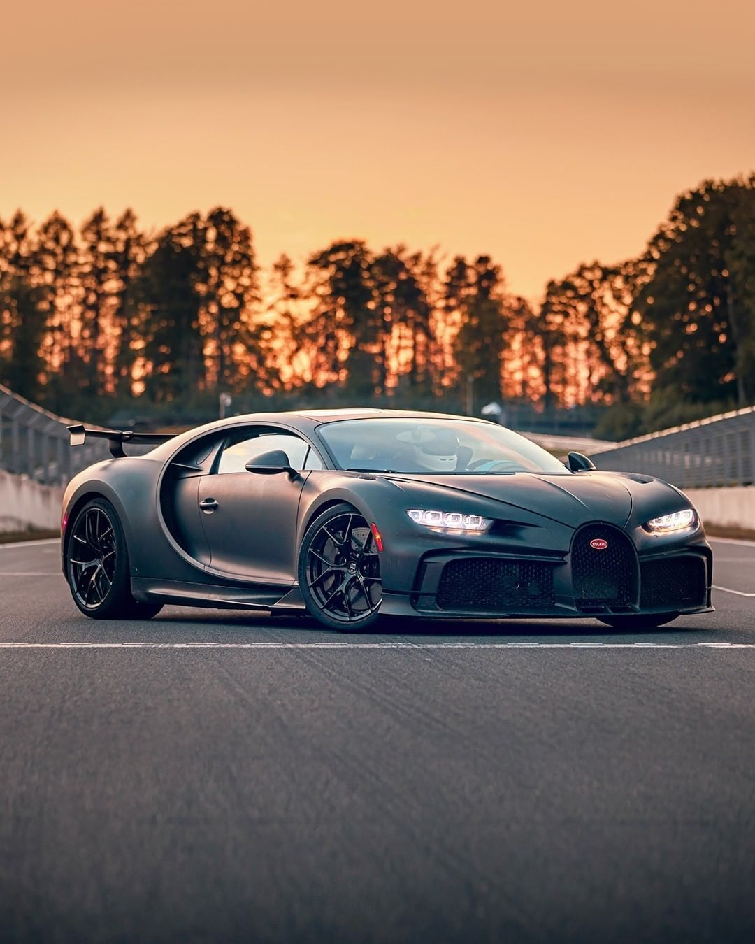 """BUGATTI on Instagram """"""""The CHIRON Pur Sport is much more agile firm and precise It's more hungry for corners accelerates faster thanks to a shorter gear ratio…"""""""