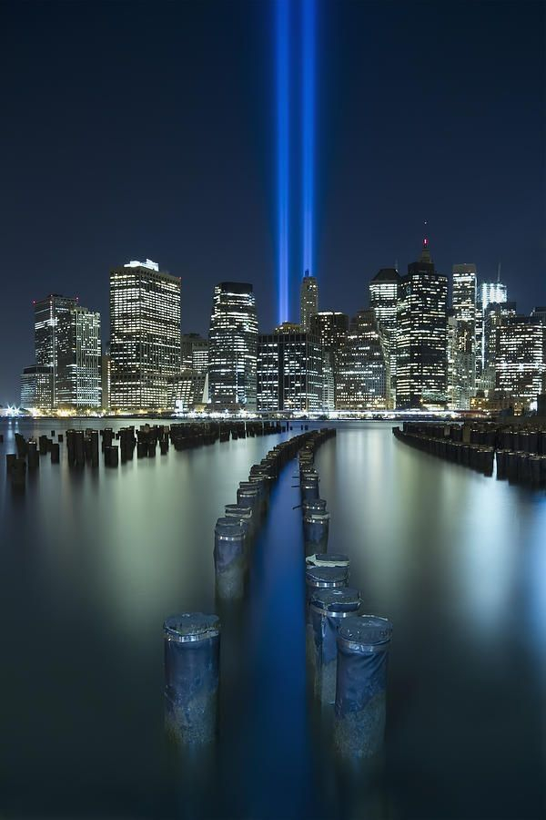 Tribute in light Remembering all we lost on Sep 11th 2001