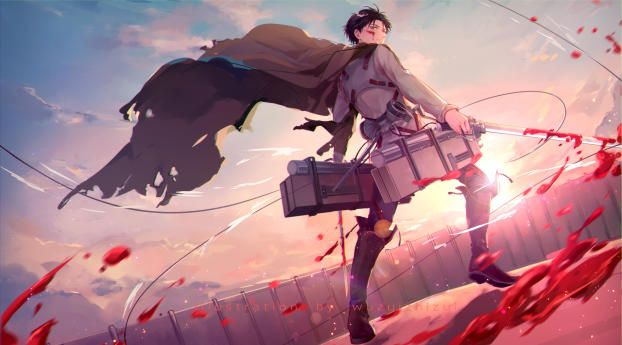 Levi Ackerman 1080P Laptop Full HD Wallpaper HD Anime 4K Wallpapers s and Background