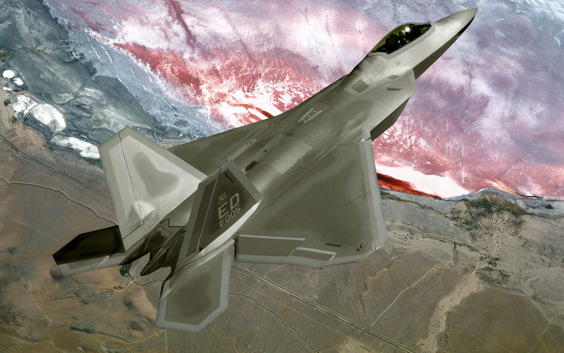gray fighter plane digital wallpaper f 22 raptor airplane military military aircraft wallpaper
