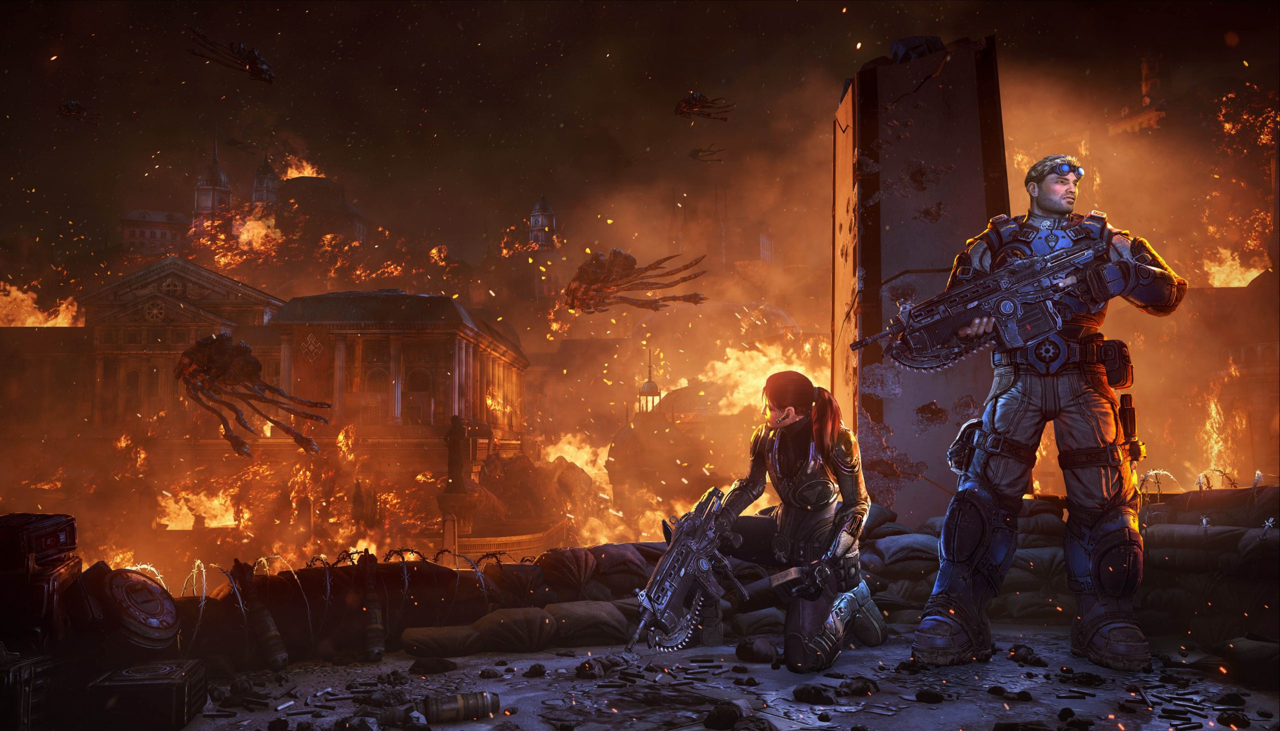 Gears of War Judgement is not just a prequel features unlockable Aftermath mini campaign SGCafe