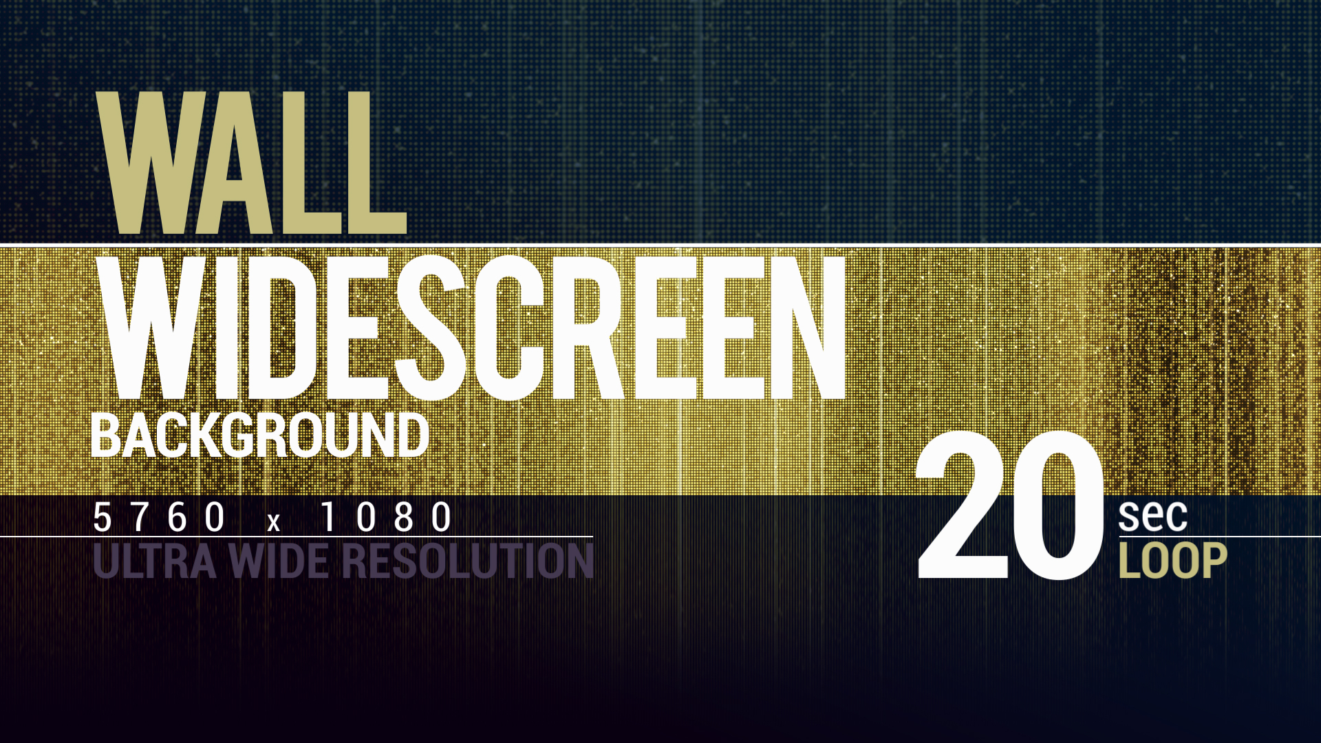 Brilliant Golden Stage Wall Widescreen 4K Backgrou