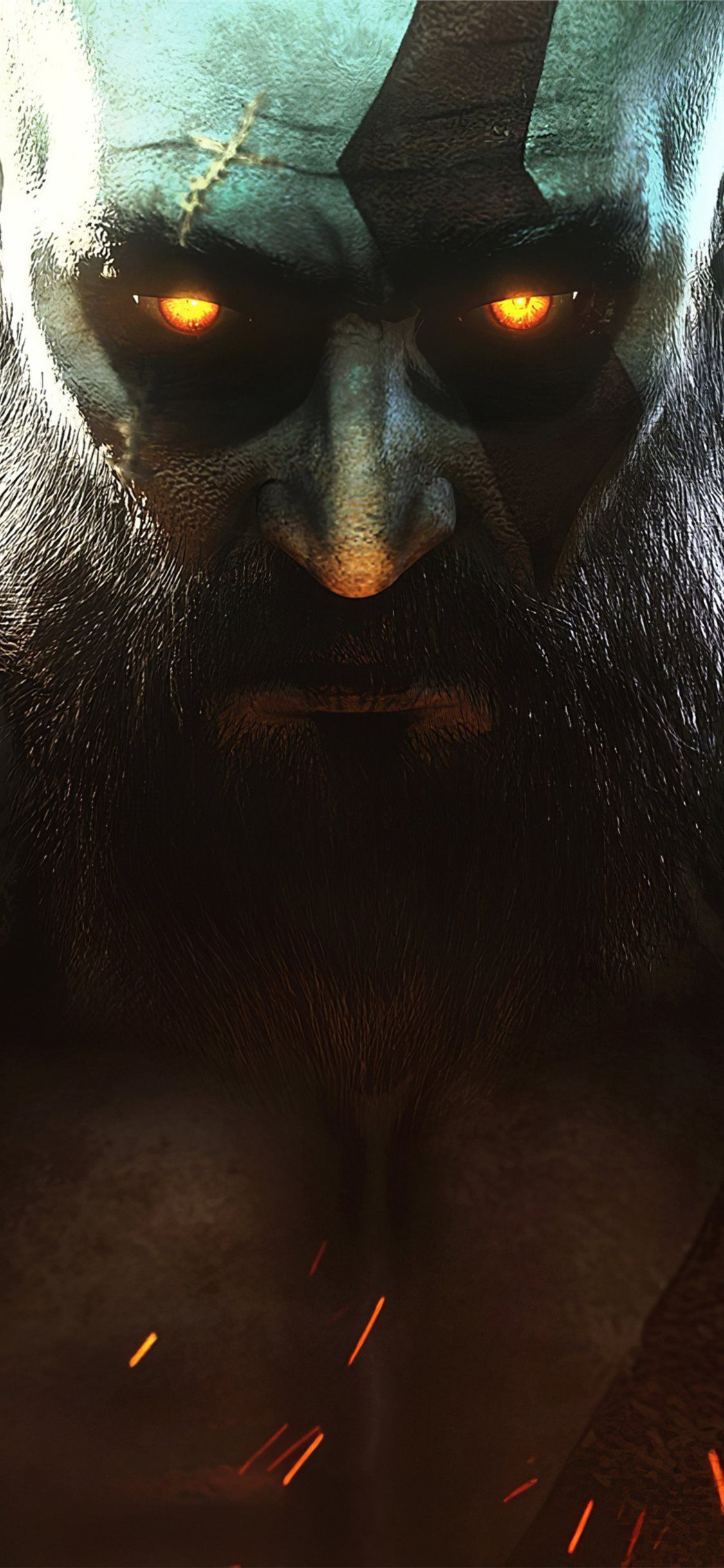 ghost of sparta god of war iPhone 11 Wallpapers